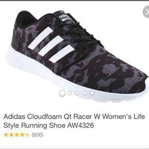 Adidas cloudfoam tennis shoes size 6
